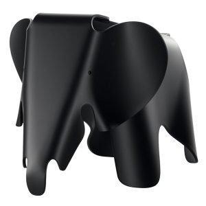 Vitra Eames Elephant Elefantti Musta