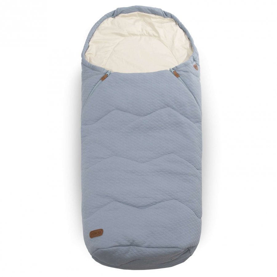 Voksi Breeze Light Footmuff Light Blue Lämpöpussi