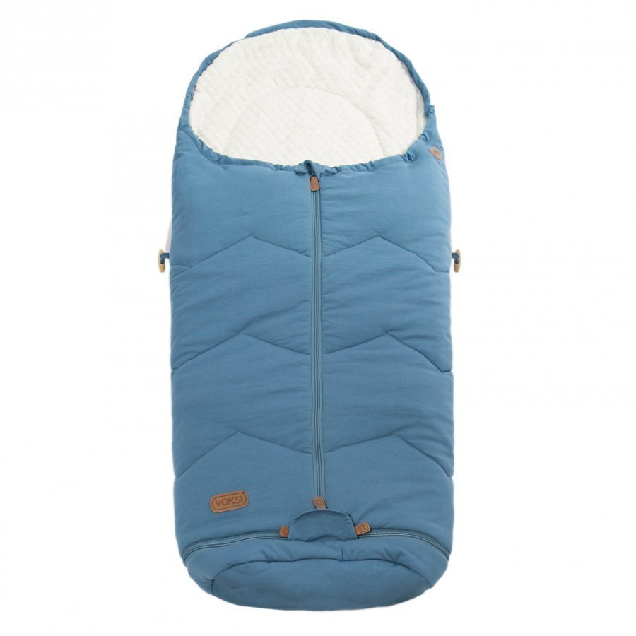 Voksi Footmuff Sky Light Incl. Extension Blue Lämpöpussi