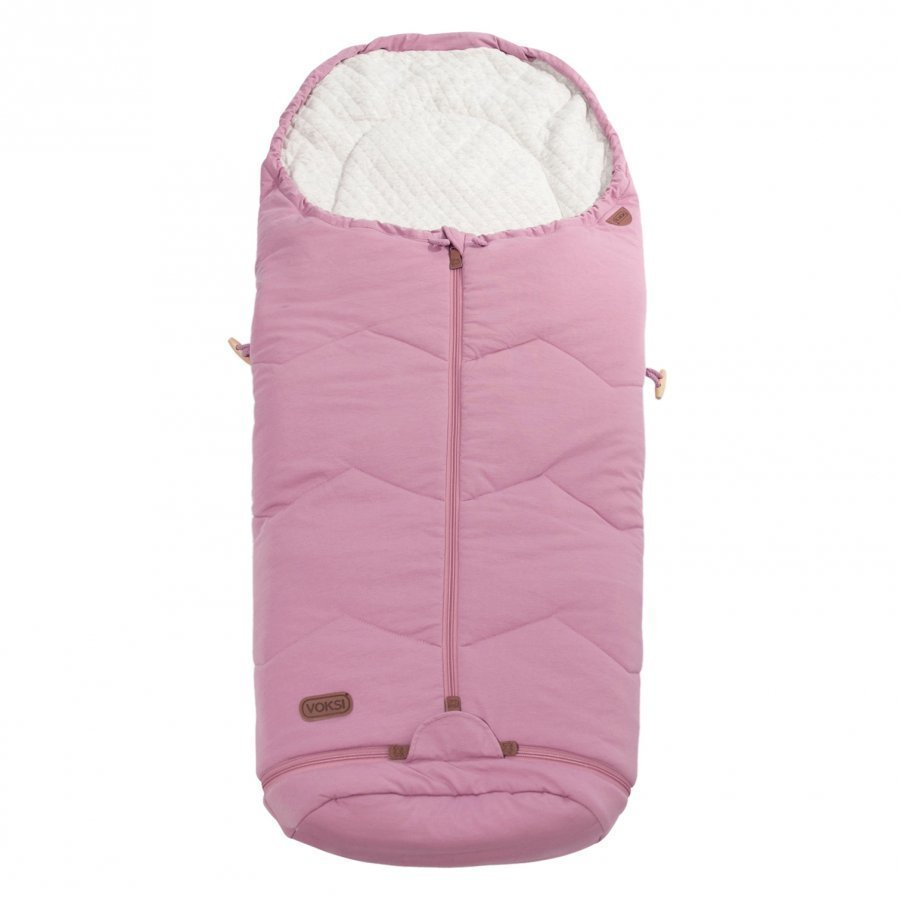 Voksi Footmuff Sky Light Incl. Extension Light Pink Lämpöpussi