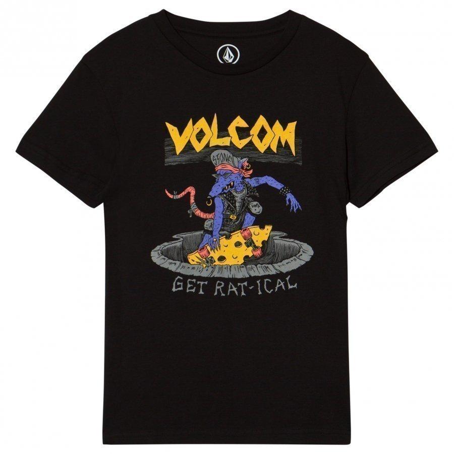 Volcom Black Ratical Graphic Tee T-Paita