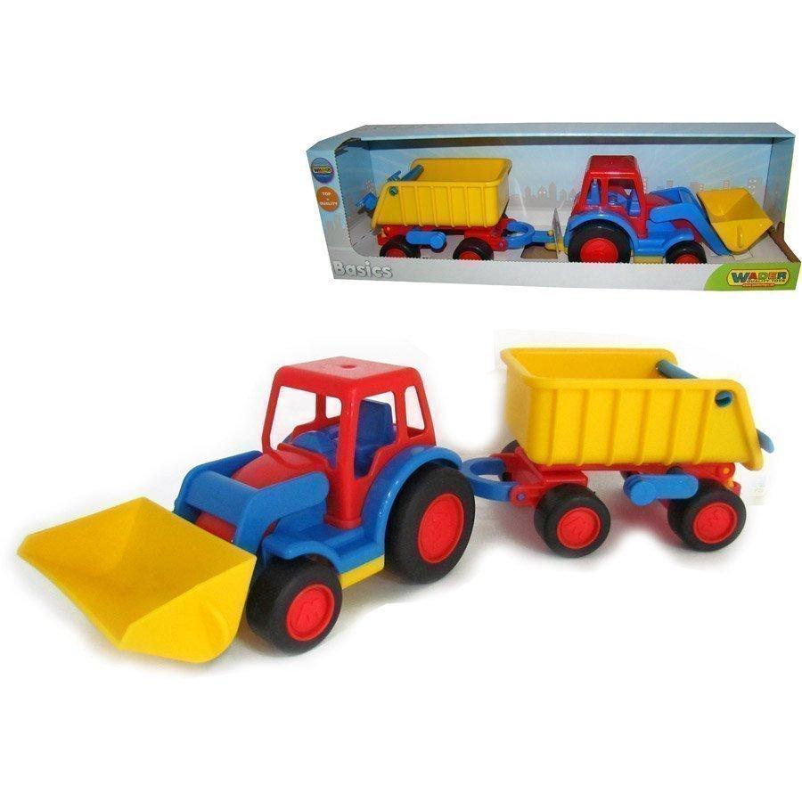 Wader Basics Traktori Kauha Ja Peräkärry