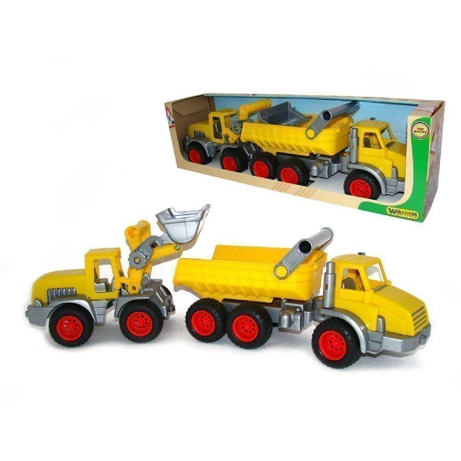 Wader Construck Kippiauto Ja Traktori