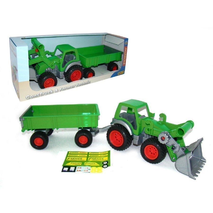 Wader Farmer Technic Traktori Kauhalla Ja Lava