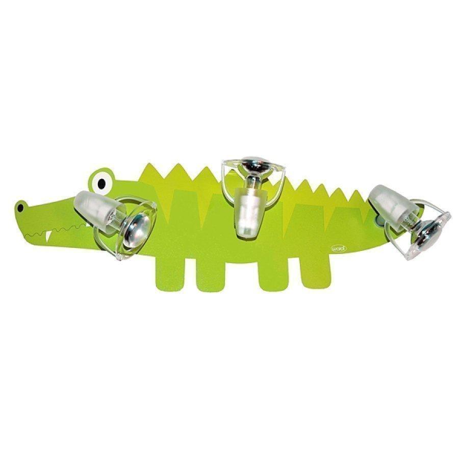 Waldi Kattovalaisin Krokotiili 3 X 9w / E14