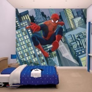 Walltastic Aihetapetti Spiderman