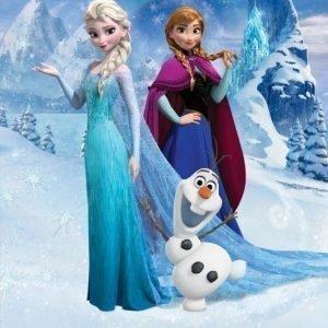 Walltastic Kuvatapetti Disney Frozen 244 x 200 cm
