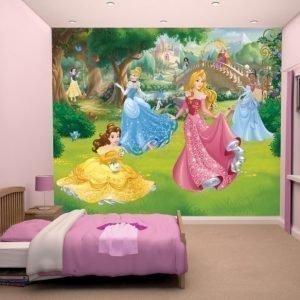 Walltastic Kuvatapetti Disney Princess 244 x 305 cm