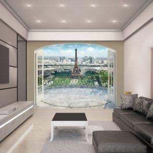 Walltastic Kuvatapetti Eiffel Tower in Paris