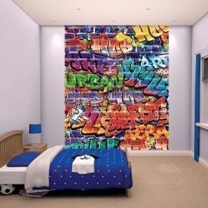 Walltastic Kuvatapetti Graffiti