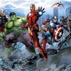 Walltastic Kuvatapetti Marvel Avengers