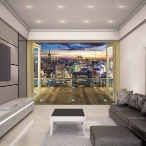 Walltastic Kuvatapetti NY City Skyline