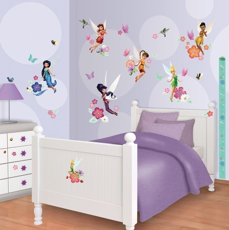 Walltastic Seinäsiirtokuvat Disney Fairies