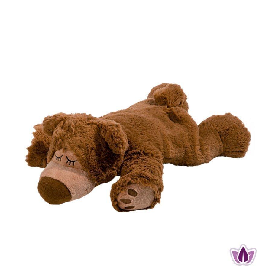 Warmies Lämpötyyny Karhu Sleepy Bear Ruskea