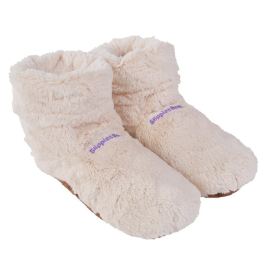 Warmies Slippies Boots Deluxe Lämpötossut Beige