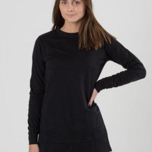 Way Ink Girl Alyssa Ls Dress Mekko Musta