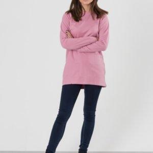 Way Ink Girl Alyssa Ls Dress Mekko Vaaleanpunainen