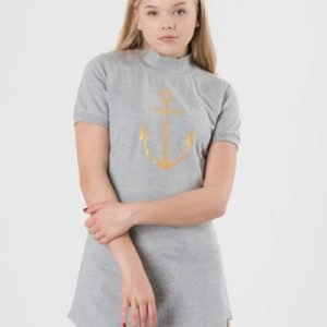 Way Ink Girl Ellie Ss Dress Mekko Harmaa