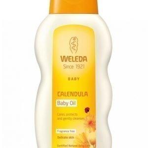 Weleda Calendula Baby Oil 200 Ml Öljy
