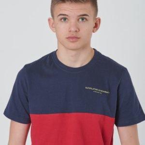 Wesc Block T Shirt Jr T-Paita Punainen
