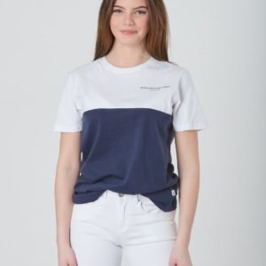 Wesc Block T Shirt Jr T-Paita Sininen