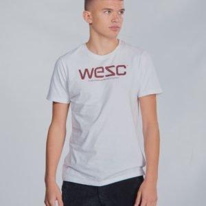 Wesc Max Logo Tee T-Paita Valkoinen