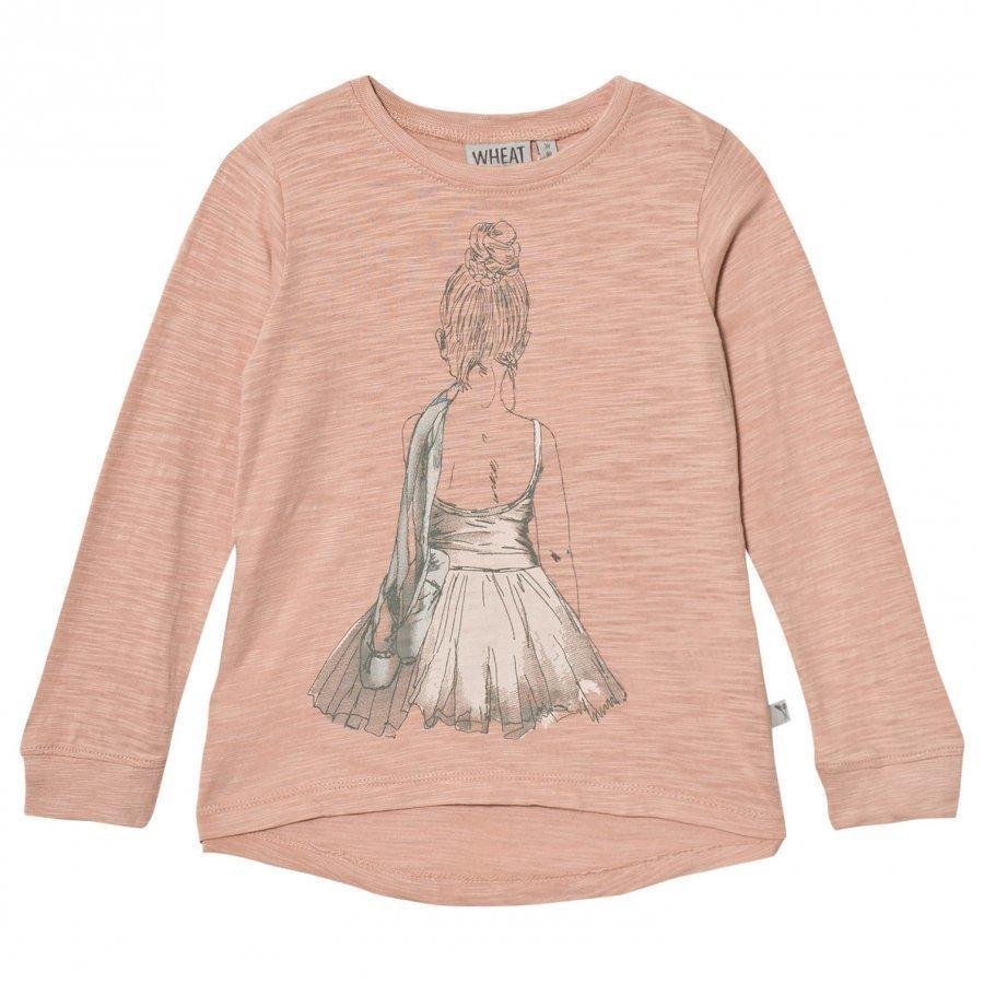 Wheat Ballerina Tee Misty Rose T-Paita