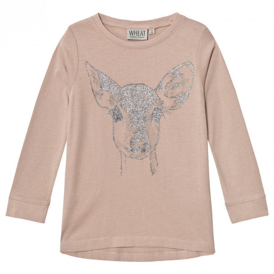 Wheat Deer Tee Shadow Rose T-Paita