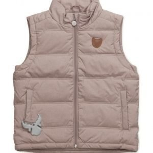 Wheat Down Vest Ras