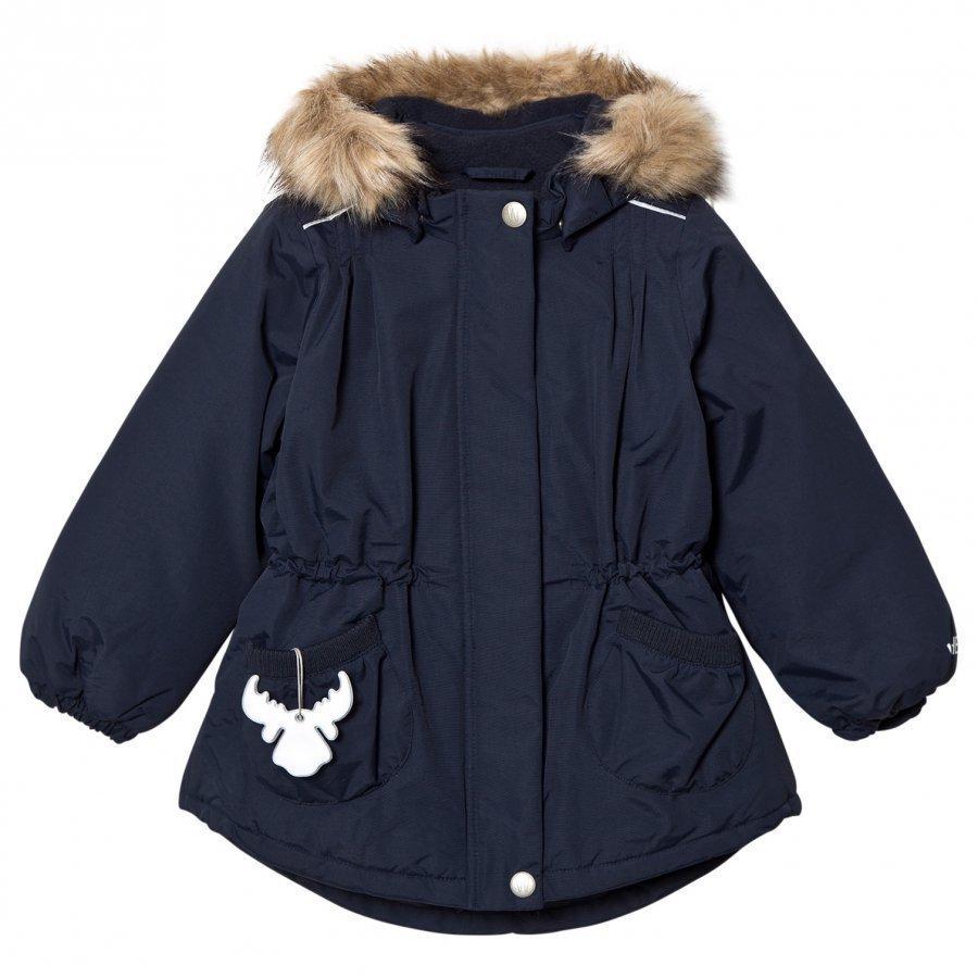 Wheat Jacket Elvira Navy Parkatakki