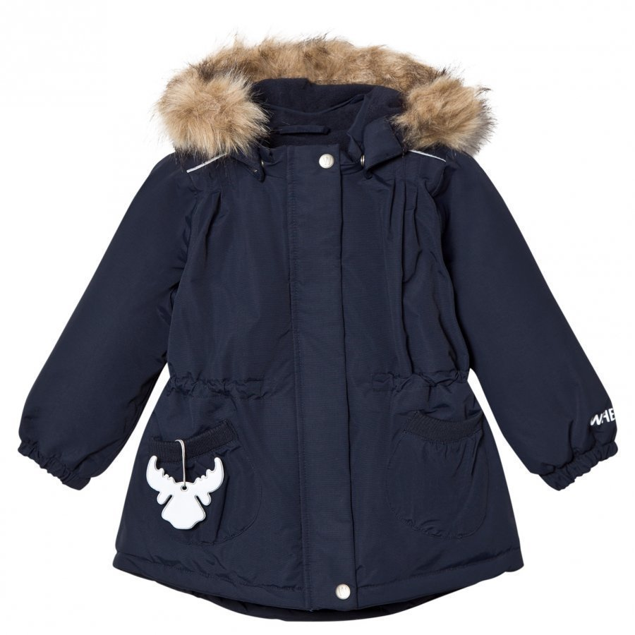Wheat Jacket Elvira Navy Parkatakki