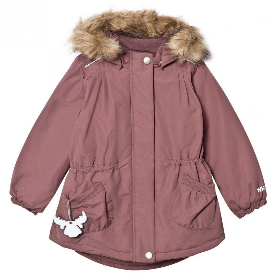 Wheat Jacket Elvira Plum Parkatakki