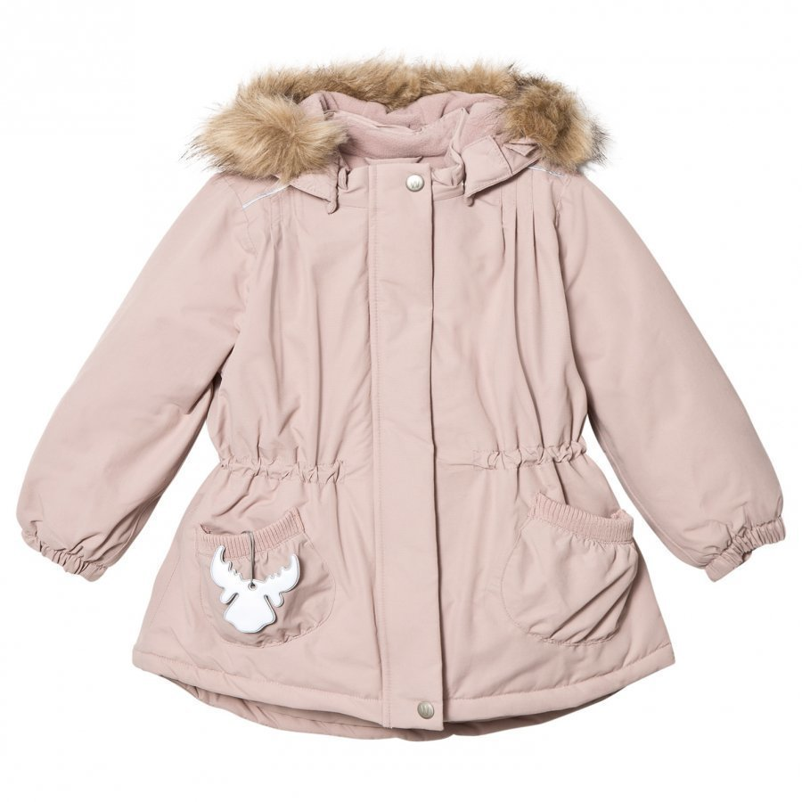 Wheat Jacket Elvira Rose Powder Parkatakki