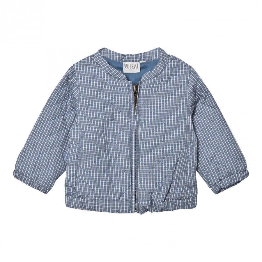 Wheat Jacket Quilt Blue Kauluspaita