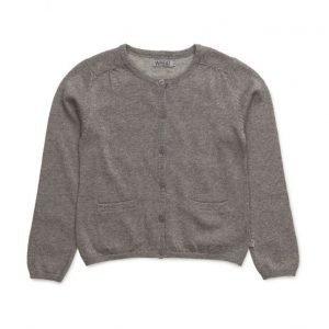 Wheat Knit Cardigan Ibi