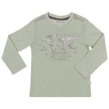 Wheat Map pitkähihainen T-paita t-paidat pitkillä hihoilla