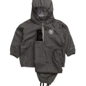Wheat Rain Jacket And Overall