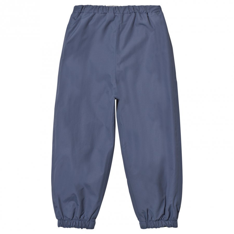 Wheat Robin Rain Pants Blue Sadehousut