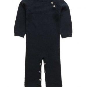 Wheat Sailor Knit Jumpsuit