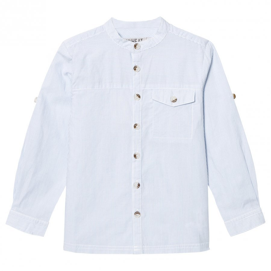 Wheat Shirt Axel Dark Dove Kauluspaita