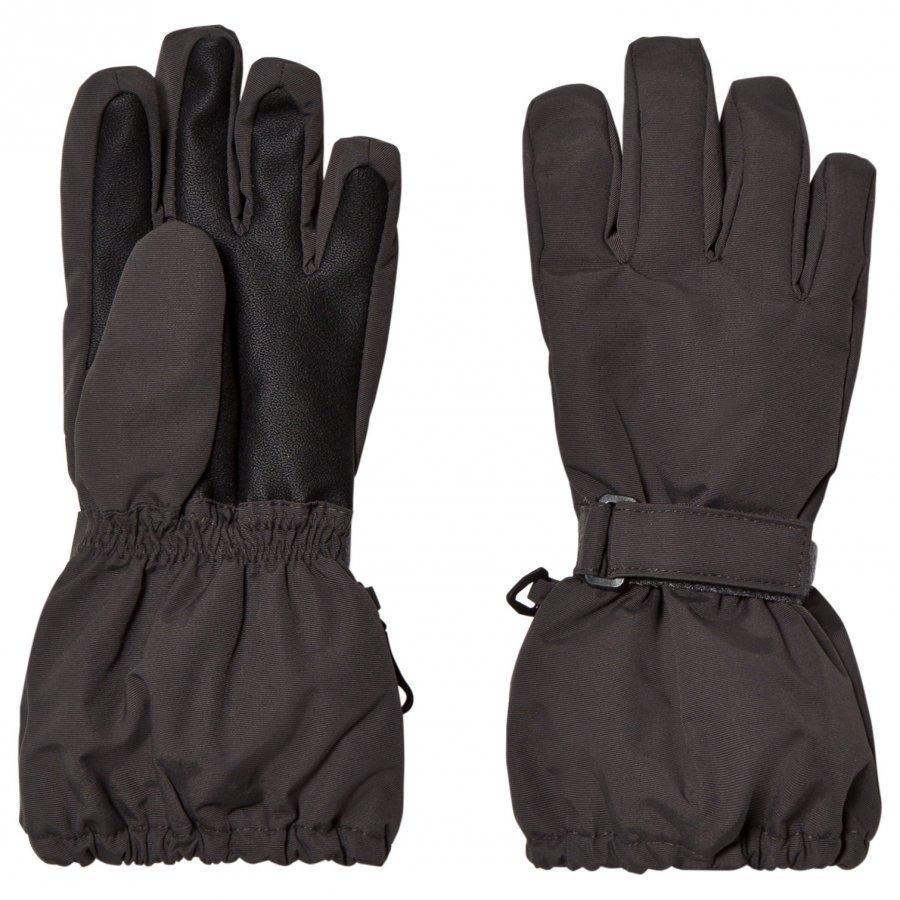 Wheat Technical Gloves Charcoal Hanskat