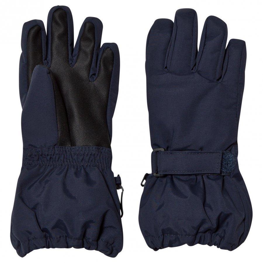 Wheat Technical Gloves Navy Hanskat