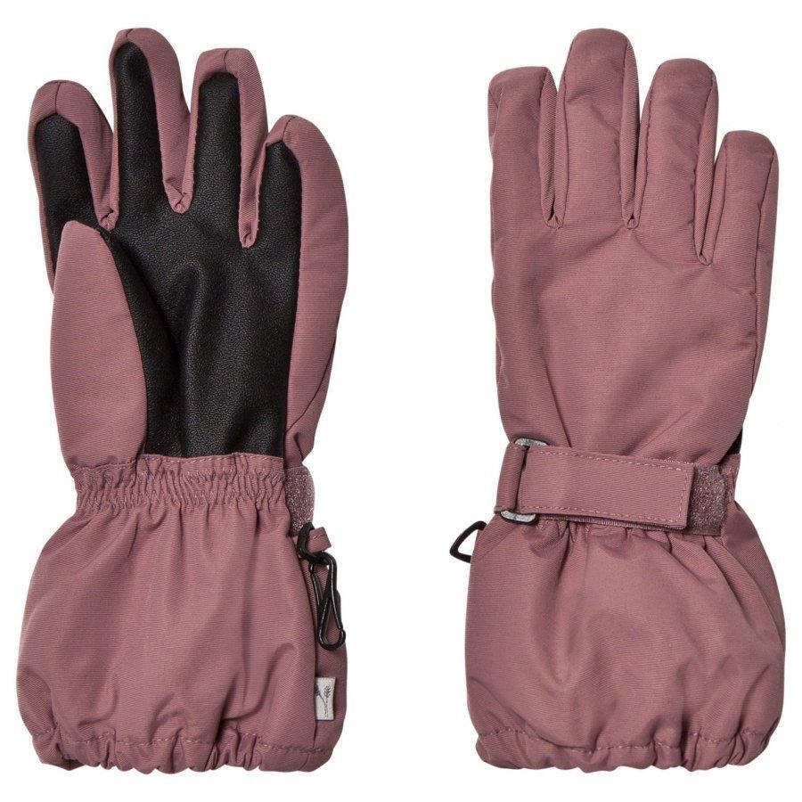 Wheat Technical Gloves Plum Hanskat