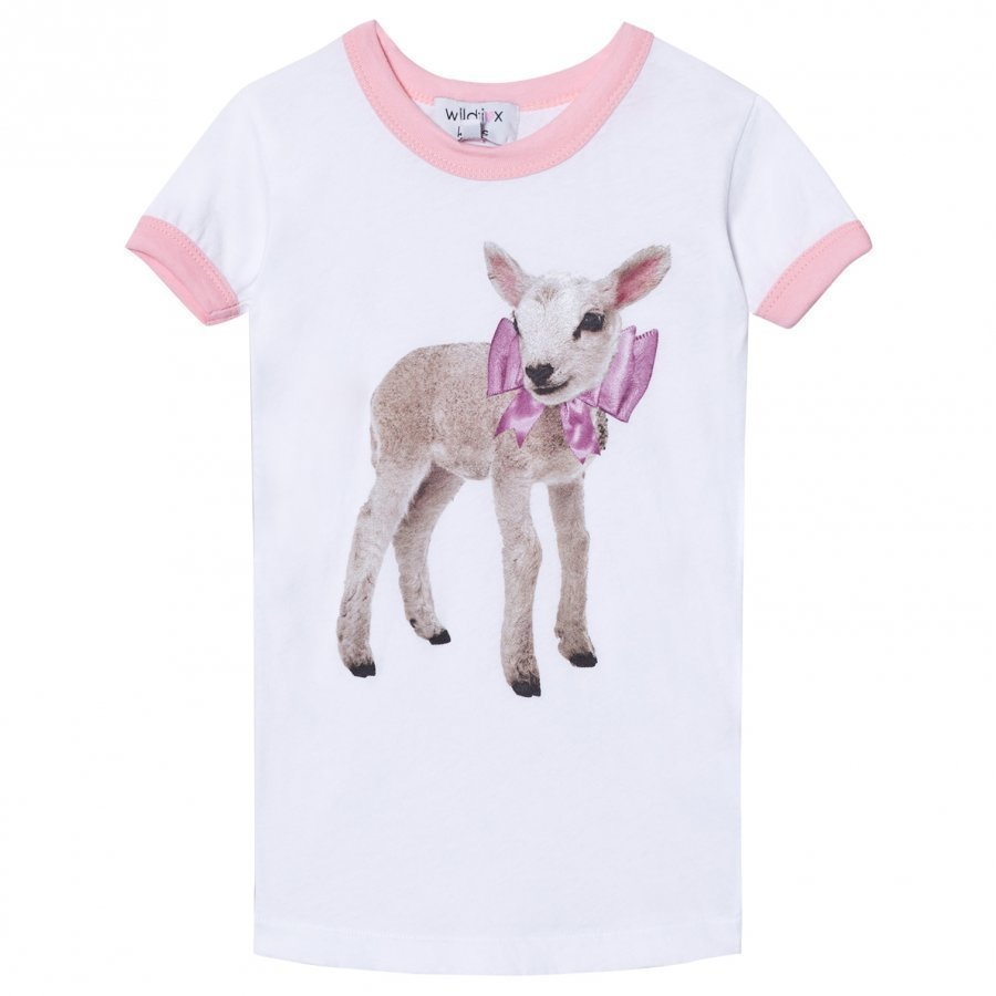 Wildfox White Little Lamb Vintage Tee T-Paita
