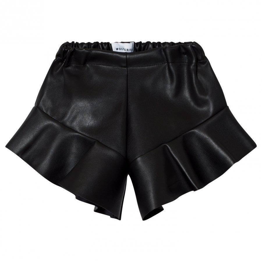 Wolf & Rita Aurelia Shorts Black Juhlashortsit