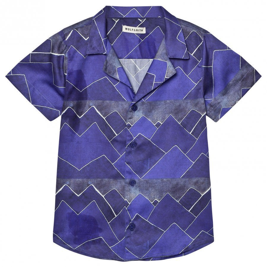 Wolf & Rita Bruno Shirt Mountains Kauluspaita