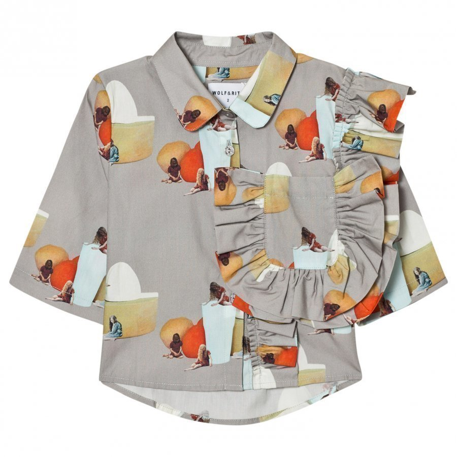 Wolf & Rita Carolina Blouse No Electricity Pusero