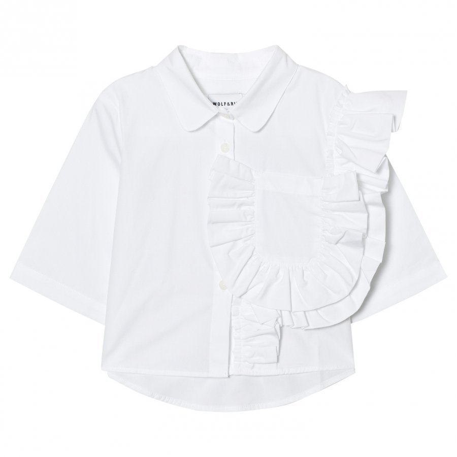 Wolf & Rita Carolina Blouse White Pusero