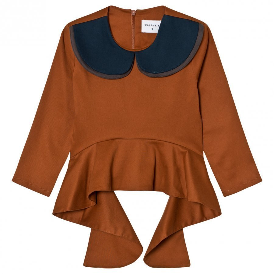 Wolf & Rita Teresa Blouse Orange Pusero