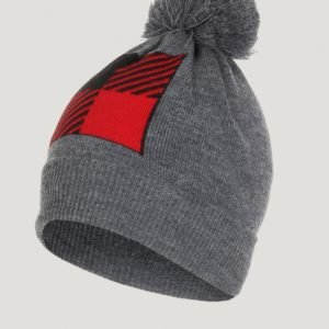 Woolrich Buffalo Beanie Hat Hattu Harmaa
